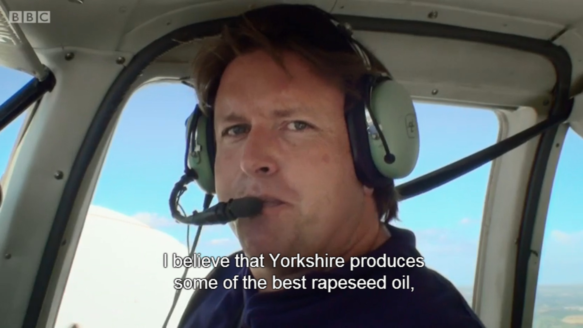 James Martin uses Yorkshires Original Rapeseed Oil for Cooking his Delicious Dishes!